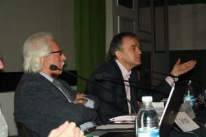 Il Presidente Rossi durante l'intervento al Convegno della Rete del 24-3-2012